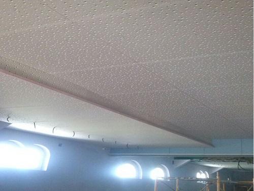 Adecuación aislamiento techo fonoabsorvente bodega
