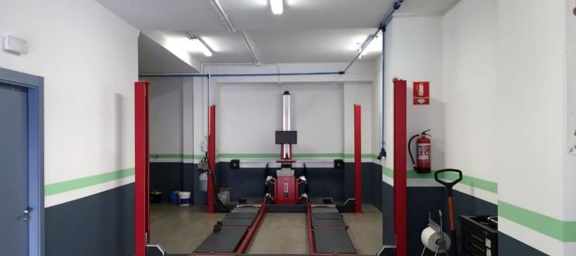 Aislamiento acústico, reforma de Taller Mecánico